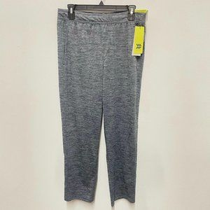 All In Motion Heather Gray Track Sweatpants M 30